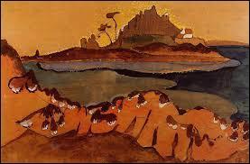 """Qui a peint """"L'île de la douane"""" ?"""