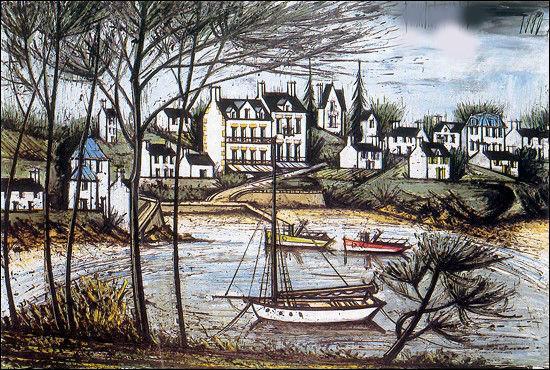 """Qui a peint """"L'île de Bréhat"""" ?"""