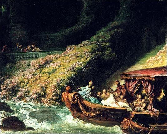 """Qui a peint """"L'île d'amour"""" ?"""