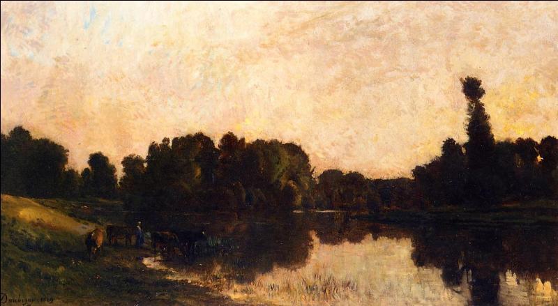 """Qui a peint """"L'île de Vaux"""" ?"""