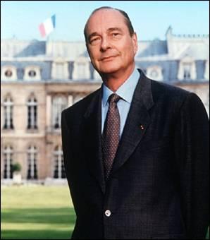 En quelle année Jacques Chirac est-il devenu président de la République française ?