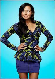 Quelle est la couleur des cheveux de Santana Lopez ?
