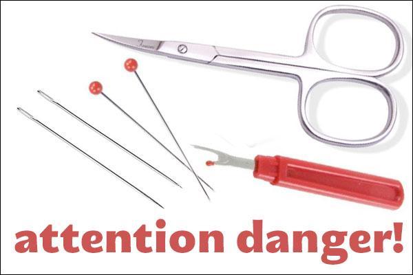 La phobie ou la peur des aiguilles et des objets pointus en général.