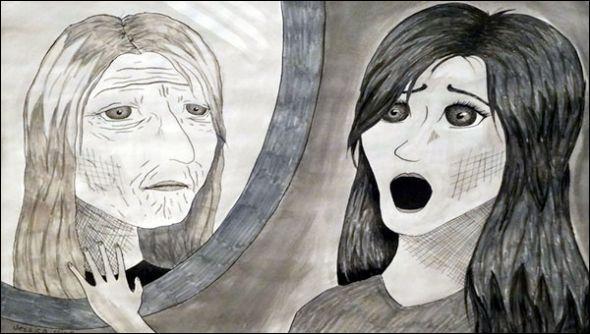 La phobie ou la peur de vieillir.