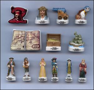 Cette collection est un trésor que le capitaine Jack Sparrow à certainement caché dans un coffre sur le Black Pearl.