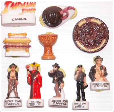Cette collection a été découverte dans un temple maudit, lors d'une dernière croisade.