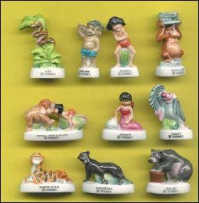 Mowgli, Baloo et Bagheera vont vous accompagnez pour découvrir cette collection.