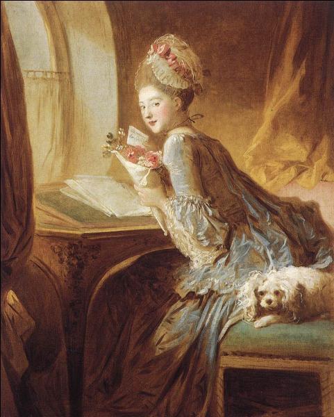 """Qui a peint """"La lettre d'amour"""" ?"""