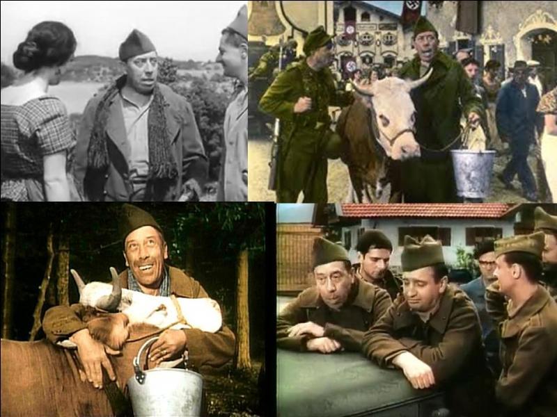 C'est une comédie dramatique française de 1959, il a été réalisé par Henri Verneuil.Fernandel, René Havard, Ingeborg Schöner, Bernard Musson… font partie de la distribution.Il lui promet de ne plus manger de veau, mais, rentra deux ans plus tard, « comme les autres ».Quel est ce film ?