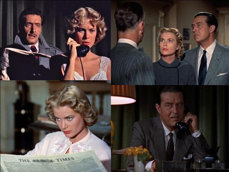 C'est un « polar » américain de 1954, il a été réalisé par Alfred Hitchcock.Grace Kelly, Margot Wendice, Robert Cummings… font partie de la distribution. Un mari craint être trompé par sa femme. Il décide de la faire éliminer en se forgeant un alibi infaillible, mais…Quel est ce film ?