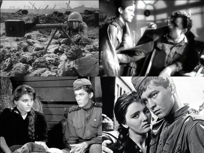 C'est un film dramatique soviétique de 1959, il a été réalisé par Grigori Tchoukhraï.Vladimir Ivachov, Janna Prokhorenko, , Antonina Maksimova… font partie de la distribution. Pendant la 2e Guerre mondiale, un jeune soldat devient un héros. Il réclame une permission pour revoir sa mère. Pendant le voyage, il tombe amoureux.Quel est ce film ?