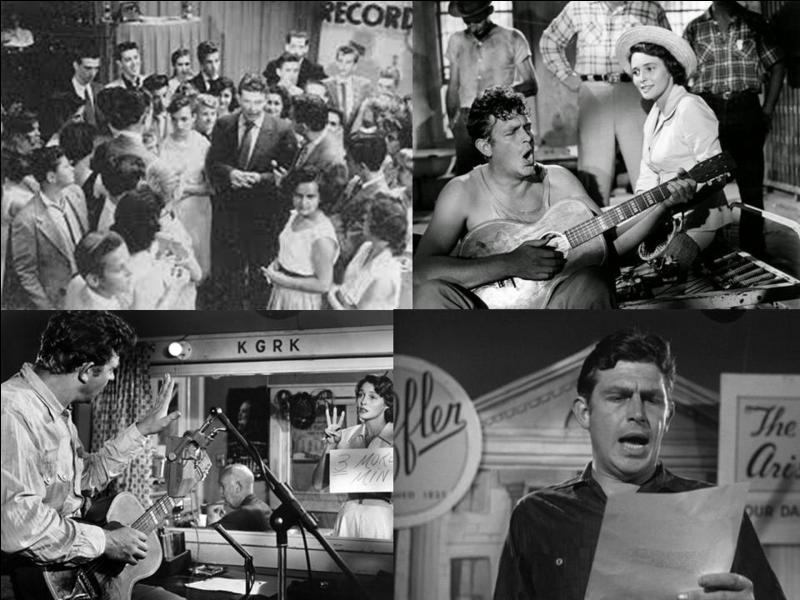 C'est un film dramatique américain de 1957, il a été réalisé par Elia Kazan.Andy Griffith, Patricia Neal, Marshall Neilan… font partie de la distribution. Un détenu est repéré pour une émission radio. Son éloquence va faire la différence, il est embauché pour un show personnel. Mais, son cynisme va se révéler…Quel est ce film ?