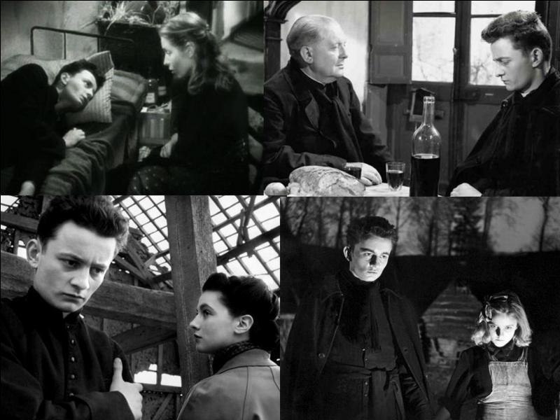 C'est un film dramatique français de 1951, il a été réalisé par Robert Bresson.Claude Laydu, Adrien Borel, Rachel Berendt, Nicole Ladmiral… font partie de la distribution.Dans une petite commune, un jeune homme vient assurer sa vocation. C'est un grand malade. Il entre en opposition avec un notable et il n'est pas accepté par la communauté. Quel est ce film ?