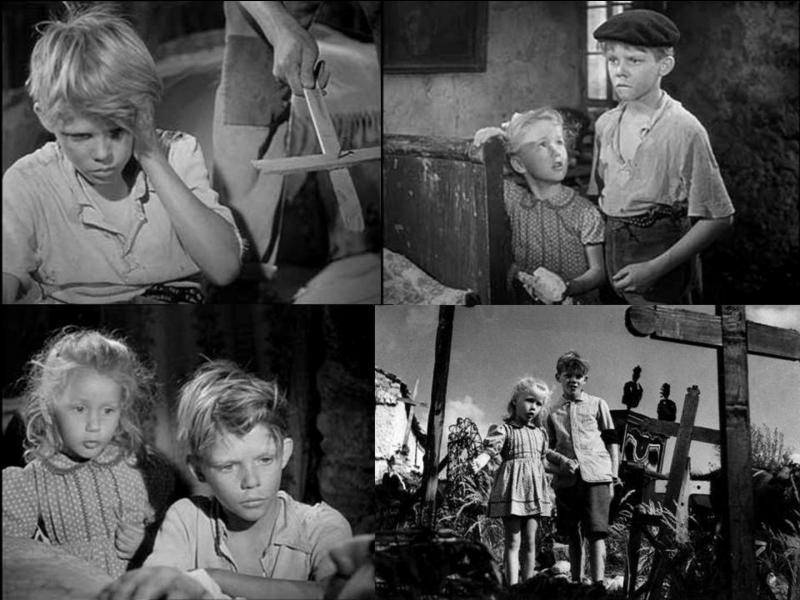 C'est un film dramatique français de 1952, il a été réalisé par René Clément.Georges Poujouly, Brigitte Fossey, Lucien Hubert, Laurence Badie… font partie de la distribution.En Mai-juin 1940, c'est l'exode, Paulette, 5 ans… Pas plus de renseignements, sachez seulement que le thème de la musique du film deviendra le thème de tous les guitaristes débutants.Quel est ce film ?