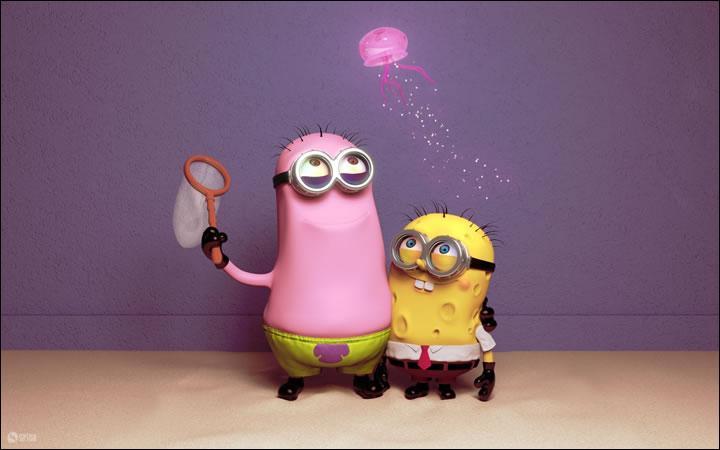 Ce Minion est rempli de cloques. Qui est-ce (à droite) ?
