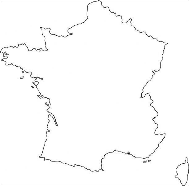 Cette forme, vous devriez la connaître. Elle représente quel pays ?