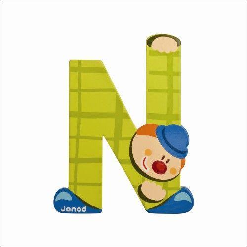 """La treizième lettre de l'alphabet est placée juste après """"N"""" !"""