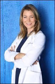 Quelle est la spécialité du docteur Meredith Grey ?