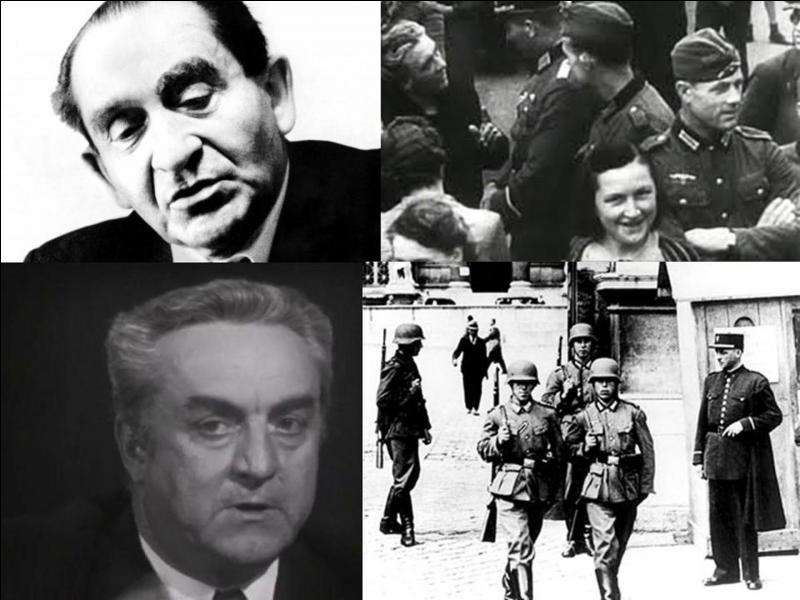 """C'est un documentaire français de 1969, il a été réalisé par Marcel Ophüls.Georges Bidault, Maurice Buckmaster, Emmanuel d'Astier de La Vigerie… ont participé à ce documentaire.A une question du """"patron"""" de l'ORTF sur ce film, de Gaulle a dit : """"la France n'a pas besoin de vérités ; la France a besoin d'espoir"""", condamnant, provisoirement, le film sur les chaînes de l'ORTF ! Quel est ce film ?"""