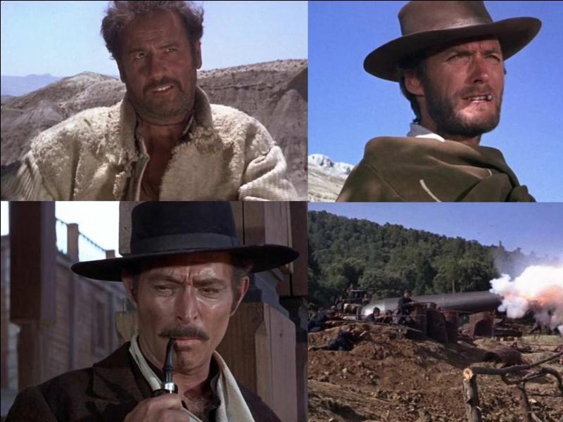 C'est un western italien de 1966, il a été réalisé par Sergio Leone.Clint Eastwood, Lee Van Cleef, Eli Wallach, Aldo Giuffrè… font partie de la distribution.« Hé, Blondin ! Tu veux que j'te dise ? Tu es le plus gros dégueulasse que la Terre ait jamais porté » ! Quel est ce film ?