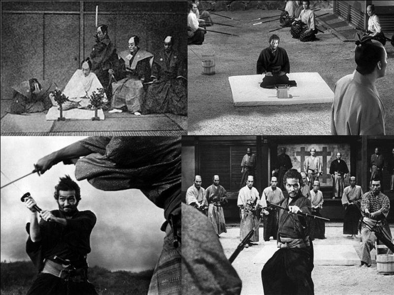 C'est un drame japonais de 1962, il a été réalisé par Masaki Kobayashi.Tatsuya Nakadai, Rentaro Mikuni, Shima Iwashita… font partie de la distribution.Un ronin veut expliquer sa vie avant de pratiquer le suicide rituel, le seppuku.Quel est ce film ?