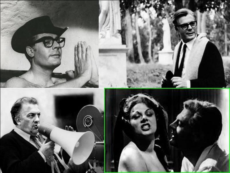 C'est une comédie dramatique franco-japonaise de 1963, il a été réalisé par Federico Fellini.Marcello Mastroianni, Anouk Aimée, Sandra Milo, Claudia Cardinale… font partie de la distribution.Un cinéaste dépressif fuit le monde du cinéma et se réfugie dans un univers de fantasmes. Pour la 1e fois, Claudia Cardinale joue avec sa voix naturelle, elle n'est pas doublée.Quel est ce film ?