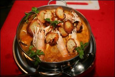 Le ttoro, soupe de poissons, est une spécialité bretonne.