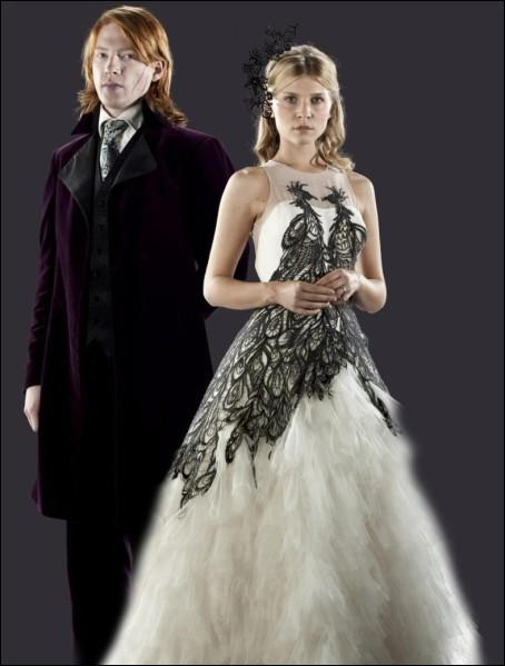 Comment se nomme la première enfant de Bill et Fleur Weasley ?