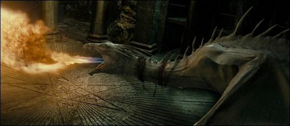 Quelle est la race du dragon qui garde la chambre forte de Bellatrix Lestrange ?