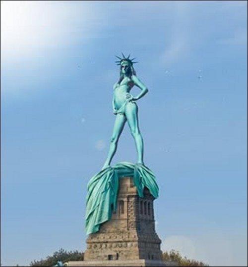 On en fait souvent des statues ou trivialement en couler un.