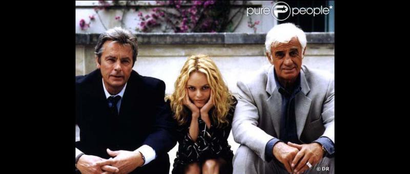 Quel est ce film qui réunit Delon, Belmondo, et Vanessa Paradis ?