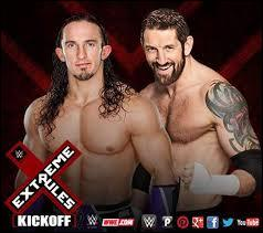 Le Kick-Off d'Extreme Rules opposera Bad News Barrett à Neville.