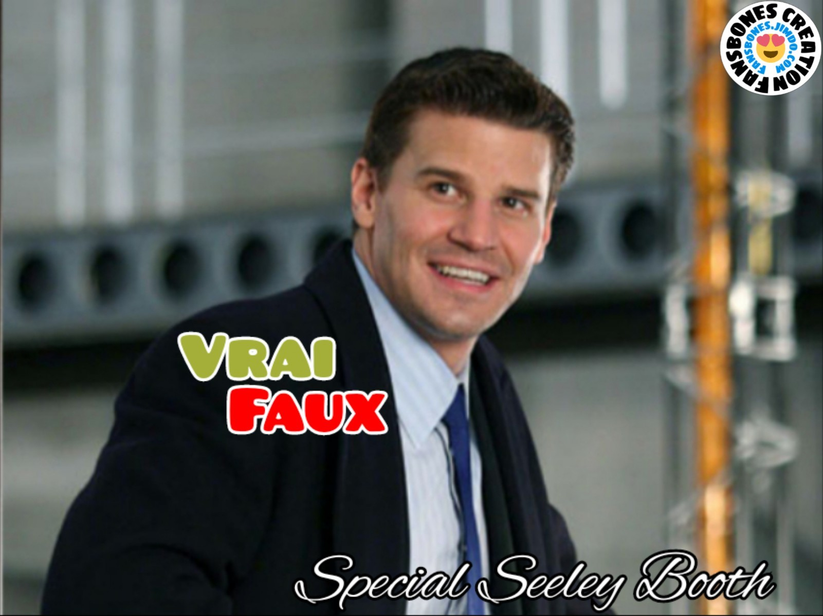 Vrai / Faux - Seeley Booth