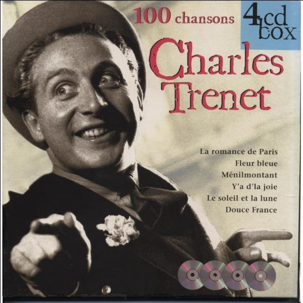 A qui Charles Trenet disait-il bonjour ?