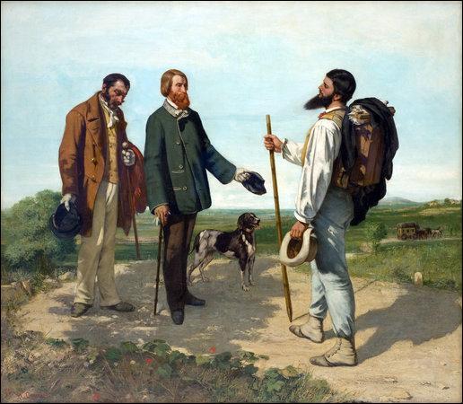 Donnez-moi le titre de ce tableau peint par Gustave Courbet :