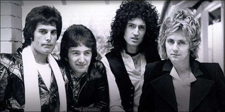 """Les membres du groupe """"Queen"""" sont tous anglais."""