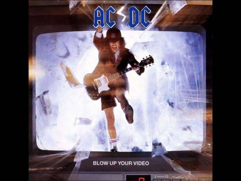 """""""Blow up your video"""" du groupe """"AC/DC"""" est leur :"""
