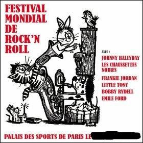 Quand a eu lieu le premier festival international de rock'n'roll à Paris ?