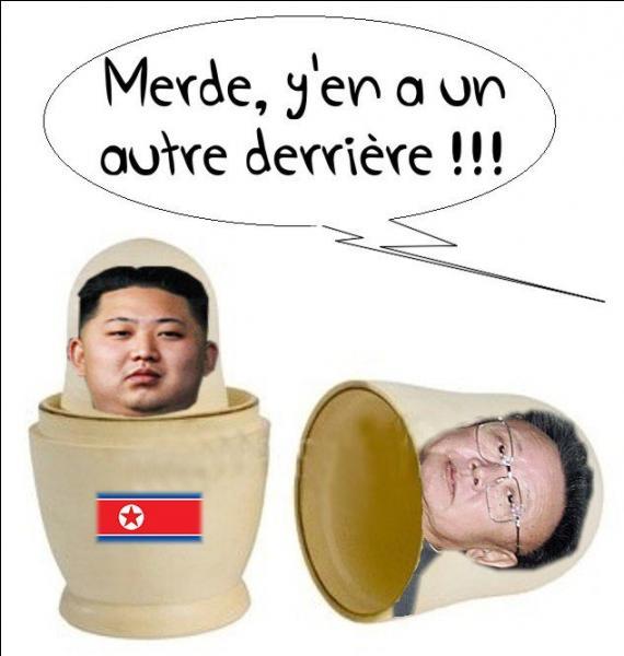 Le cruel président de la Corée du Nord s'appelle...