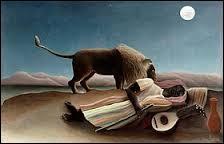 """""""La Bohémienne endormie"""" est un tableau de..."""