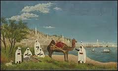 """Pouvez-vous me dire qui a peint ce tableau intitulé """"Paysage d'Alger"""" ?"""