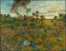 """""""Coucher de soleil à Montmajour"""" est un tableau peint par ..."""