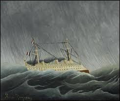 """Savez-vous qui a peint le tableau """"Le Navire dans la tempête"""" ?"""