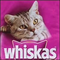 Whiskas est une marque d'alimentation pour chats.