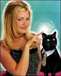 Le chat noir de Sabrina l'apprentie sorcière s'appelle Merlin.