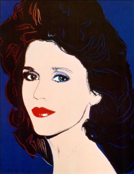 Qui a réalisé ce portrait de Jane Fonda ?