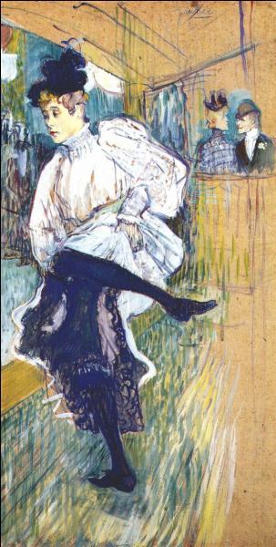 """Qui a peint """"Jane Avril dansant"""" ?"""
