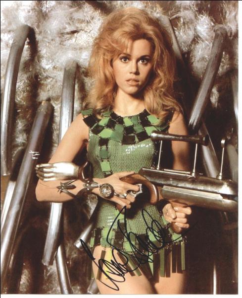 Dans quel film de Roger Vadim Jane Fonda est, ici, photographiée ?