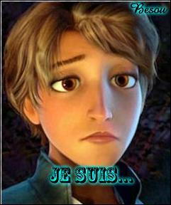 Vous avez ci-contre la version féminine du prince de Raiponce dans le film d'animation du même nom. Comment se nomme ce bel homme ?