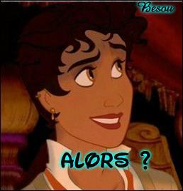 On a rencontré le prince Naveen dans « La Princesse et la Grenouille ». Vous pouvez le voir déguisé en fille ci-contre. Pour quelle jolie demoiselle a-t-il craqué ?